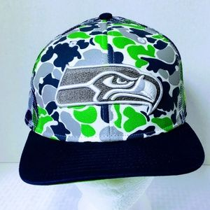 New Era 9Fifty Seattle Seahawks Camo Snapback Cap